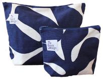 ReThink Design - Toiletry Bags Set Blue White