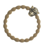 byEloise - Camel Hair Tie with Jaguar Charm