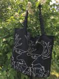 Anna Viktoria - Black Reindeer Bag