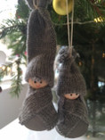 Larssons Trä - Christmas Couple Decoration Hadar and Hedda