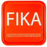 I Love Design - FIKA Tray Orange