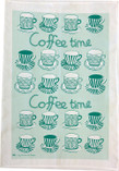 Emelie Ek - Coffee Time Towel Green