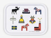 Skandinavisk Hemslöjd - Sweden Tray