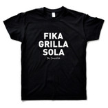 Adopt a Fly - Black T-shirt - Fika Grilla Sola