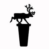 Pufz - Reinder Wine Cork Black