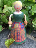 Vintage - Hand Painted Wodden doll from Värmland