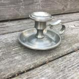 Vintage - Tin Candle Holder