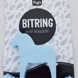 Pufz- Teething Ring, Dala Blue