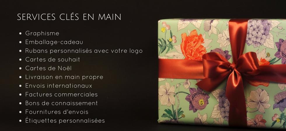 Emballage cadeaux service clés en main