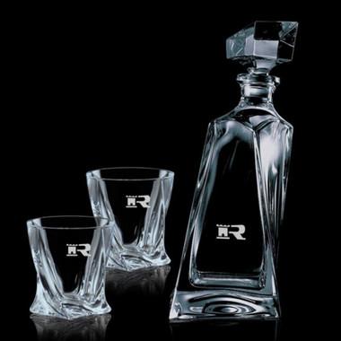Décanteur Bonham 24oz avec deux verres #4239