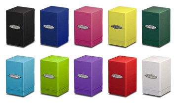 Ultra Pro - Satin Tower Very Sturdy - Deckbox - Choose Your Color