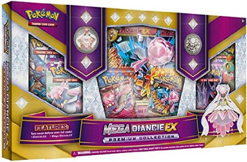 Pokemon TCG - Mega Diancie-EX Premium Collection - Gift Box