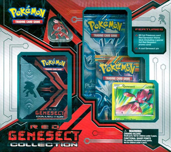 Pokemon TCG - Red Genesect Collection - Gift Box
