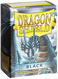 Dragon Shield - Black - 100ct Card Sleeves