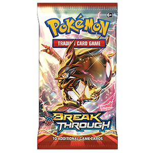 Pokemon TCG Breakthrough XY Booster Pack