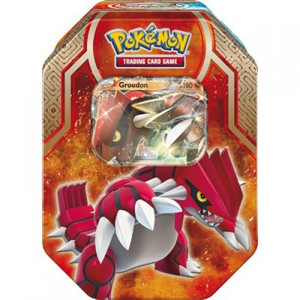 Pokemon- Legends Of Hoenn Arise - Groudon Tin