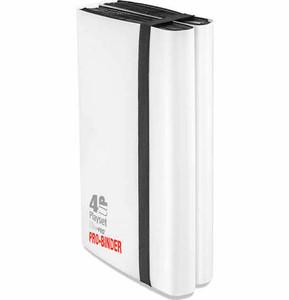 Ultra Pro- Pro Binder- 4 Up Playset- White
