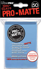 Ultra Pro Card Sleeves- Light Blue 50ct