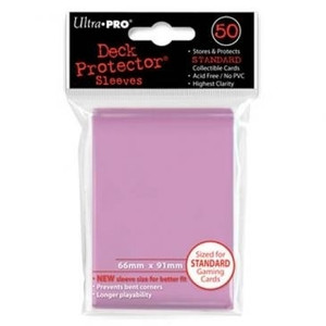 Ultra Pro Card Sleeves- Pink 50ct