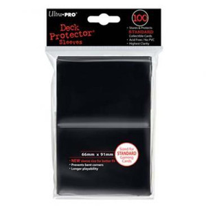 Ultra Pro Card Sleeves- Black 100ct