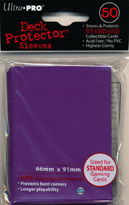 Ultra Pro Card Sleeves- Purple 50ct