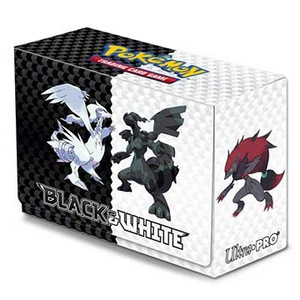 Pokemon- Ultra Pro- Black & White Deckdox