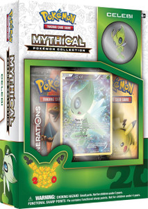 Mythical Pokemon Celebi Collection - Includes 2x Generations Booster Packs
