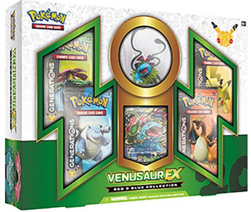 Pokemon Generations- Venusaur EX Box