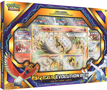 Pokemon TCG BREAK Evolution Box Ho-Oh and Lugia