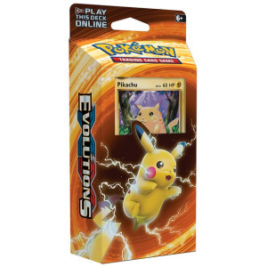 Pokemon TCG- Pikachu Power Theme Deck- Evolutions
