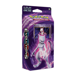 Pokemon TCG- Mewtwo Mayham Theme Deck- Evolutions
