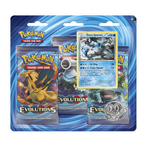 Pokemon TCG- Evolutions-  Black Kyurem Blister Pack