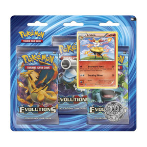 Pokemon TCG- Evolutions-  Braixan Blister Pack