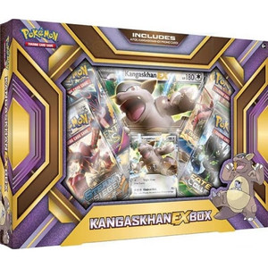 Pokemon TCG- Kangaskhan EX Box