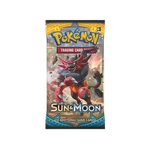 Pokemon TCG Sun & Moon Booster Pack