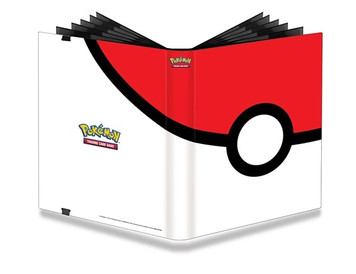 Ultra PRO Pokemon Full-View 9-Pocket PRO-Binder Pokeball