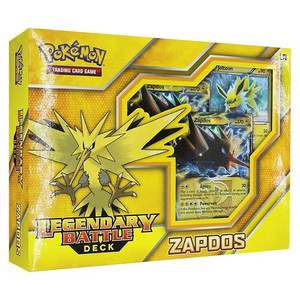 Pokemon TCG Legendary Battle Deck- Zapdos