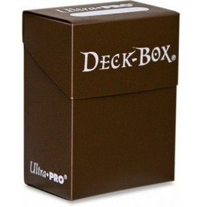 Ultra Pro - Solid Brown - Deckbox