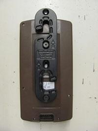 John Deere Original (Brown Screen) with a quick attach bracket installed on back.