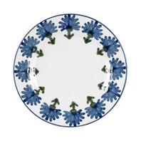 Bachelor Button Plate, Cornflower Plate, Cornflower Dinnerware