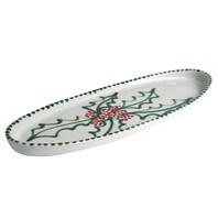 Holly Graffiti Antipasto Tray