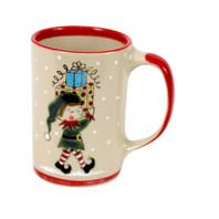 14 oz Santa's Elves Mug Jingles