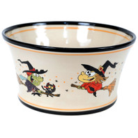 Large Candy/Salad Bowl in Witches