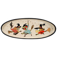 "20"" Witches Antipasto Tray"