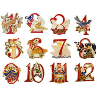12 Days Of Christmas, Stoneware's 2016 Release of 12 Days of Christmas