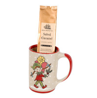 Santa's Elves Mug & Coffee Gift Set