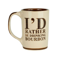 I'd Rather Be Drinking Bourbon Mug