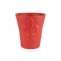 Small Fleur de Lis Flower Pot
