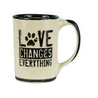 Love Changes Everything Mug, Pet Lovers Mug