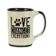 Love Changes Everything Mug, Pet Lovers Mug